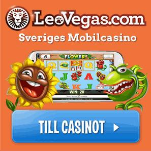100 gratis free spins hos Leo Vegas Casino
