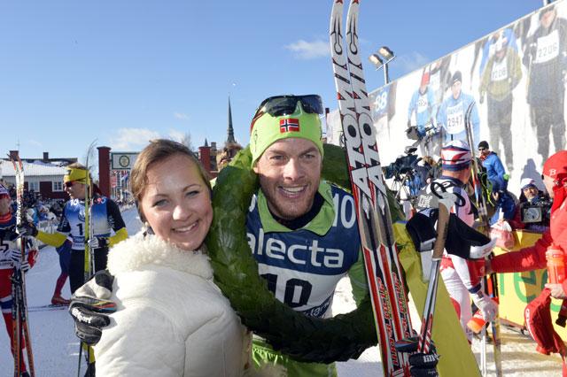 Vinnare av Vasaloppet 2013