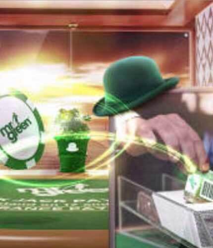 Live Casino med 100 gröna cashkort i kortlekarna